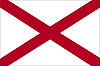 Official State Flag of Alabama.