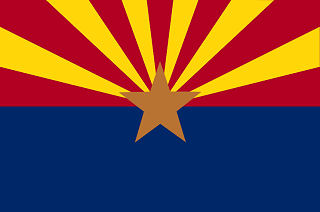 Official Arizona state flag.