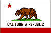 Official State Flag of California.