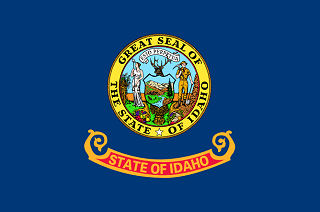 Official Idaho state flag.