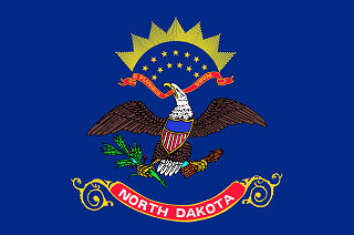 Official North Dakota state flag.
