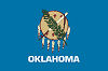 Official State Flag of Oklahoma.
