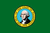 Official State Flag of Washington.