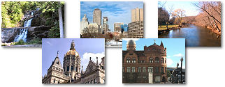 Connecticut State collage of images.