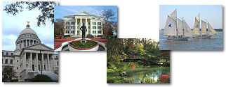 Mississippi State collage of images.