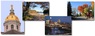New Hampshire State collage of images.