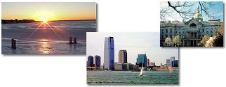 New Jersey State collage of images.
