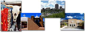 New Mexico State collage of images.