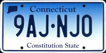 The Official Connecticut State License Plate The Us50