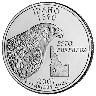 Idaho State Quarter