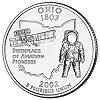 Commemorative state quarter of Ohio.