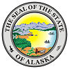 Image of the Alaska state seal.