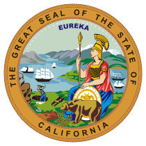 Official California state seal.