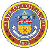 Image of the Colorado state seal.
