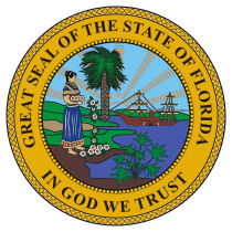 Official Florida state seal.