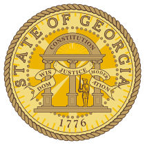 Official Georgia state seal.