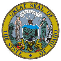 Official Idaho state seal.