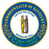 Image of the Kentucky state seal.