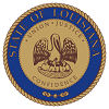 Image of the Louisiana state seal.