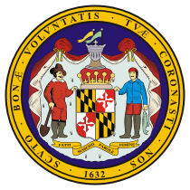 maryland state seal depicted above is the state seal of maryland ...