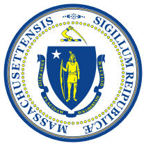 Official Massachusetts state seal.
