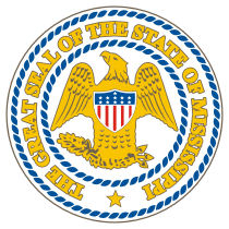 Official Mississippi state seal.