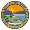 Official State Seal of Montana.