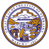 Official Nebraska state seal.