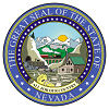 Official State Seal of Nevada.