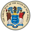 Official State Seal of New Jersey.