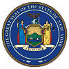 Official State Seal of New York.