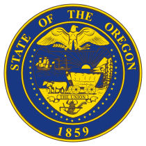 Official Oregon state seal.