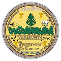 Official Vermont state seal.