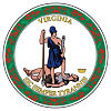 Image of the Virginia state seal.