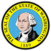 Official State Seal of Washington.
