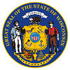 Official State Seal of Wisconsin.