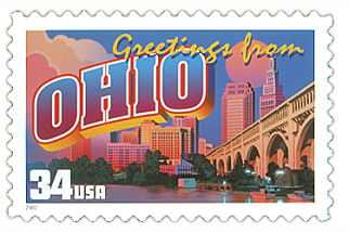 Official Ohio state stamp.