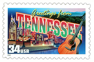 Official Tennessee state stamp.